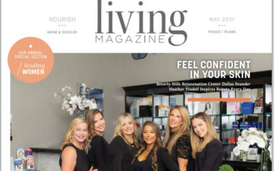 Living Magazine's Annual Special Addition of Leading Women in Frisco & Plano